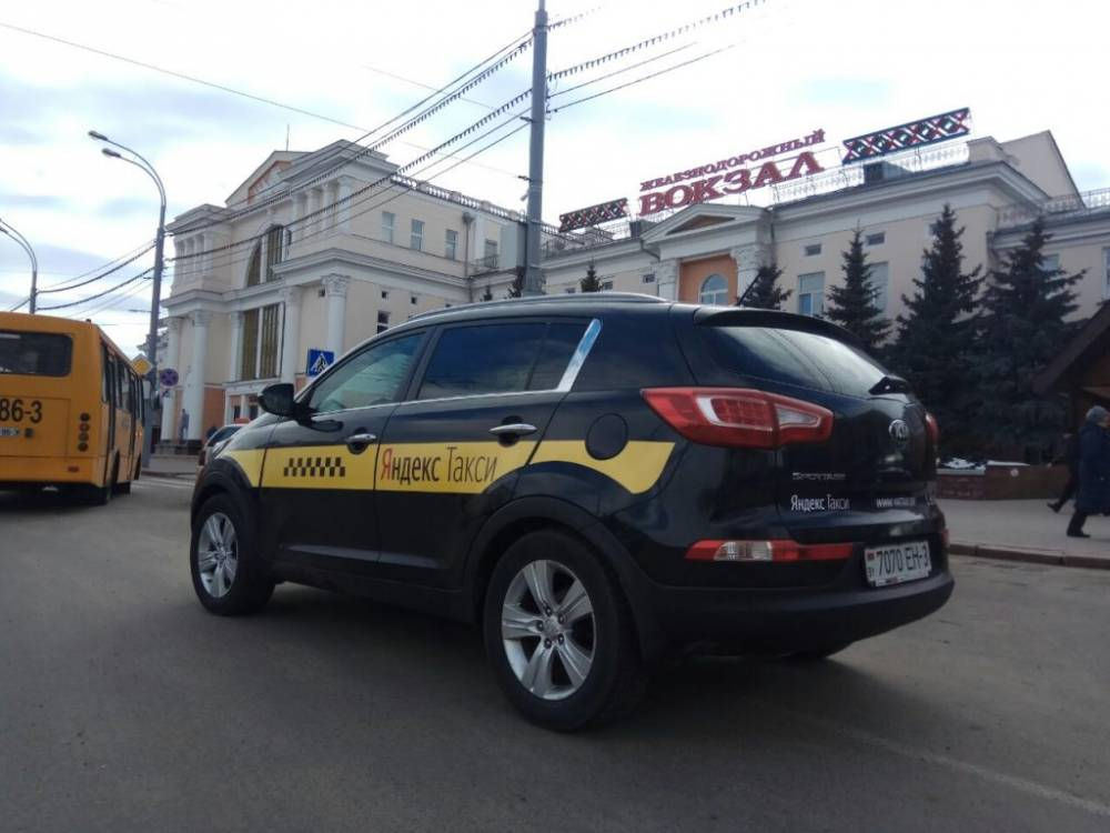 Яндекс.Такси запускает оплату банковскими картами. Сервис доступен в Гомеле и Речице