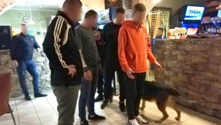 Служебная собака Дора унюхала наркотики у минчанина, который приехал в Калинковичи