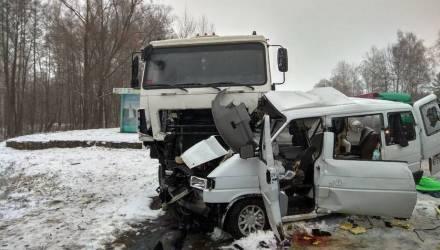 В Гомеле возбуждено уголовное дело в отношении водителя VW, в котором после столкновения с МАЗом погибли 5 женщин