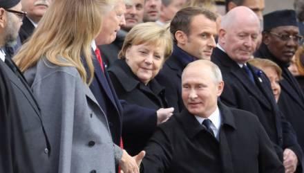 Трамп протянул руку Путину и проигнорировал Порошенко – видео