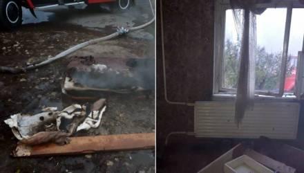 В Гомельском районе прохожий спас человека на пожаре, вытянув его на улицу