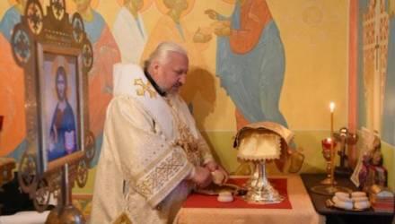 Владыка Стефан вознёс молитву о пострадавших в дорожно-транспортных авариях.