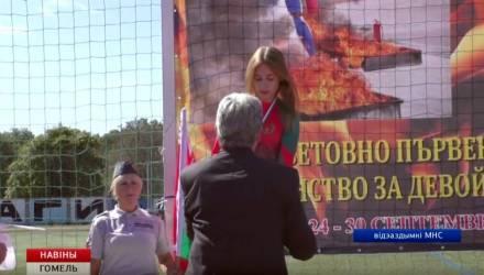 В Гомеле чествовали победителей и призеров юношеского чемпионата мира по пожарно-спасательному спорту