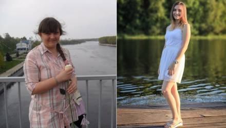 Гомельчанка за 7 месяцев похудела на 25 кг и превратилась в красавицу