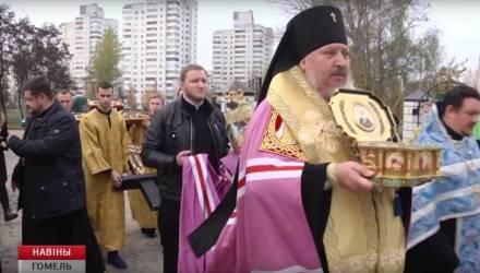 В Гомель прибыл ковчег с мощами Блаженной Матроны Московской и частицы Ризы Господней в кресте-мощевике