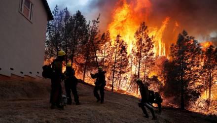 Ад в Парадайсе. Лесной пожар уничтожил город в США, люди спасаются бегством – жуткие кадры огненной стихии