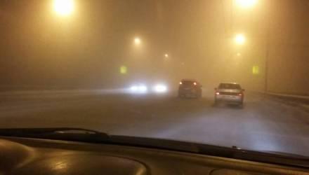 ГАИ Гомельщины ввела спецплан «Туман» и призывает водителей и пешеходов к внимательности