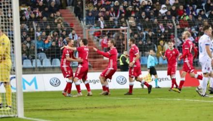 Футболисты сборной Беларуси обыграли на выезде Люксембург в Лиге наций УЕФА