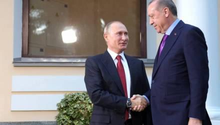 """Путин запустил """"Турецкий поток"""""""