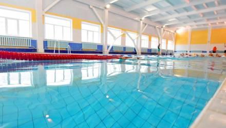 В гомельской школе после ремонта открылся бассейн. Стоимость и расписание сеансов