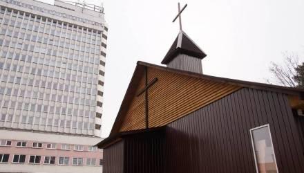 В Гомеле построили католическую часовню и заложили фундамент костёла (фото)