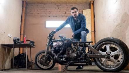 Белорус выиграл конкурс YouTube. История начинающего кастомайзера с «зазоциклом», которому помогал гомельчанин