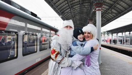 БЖД пустит на новогодние и рождественские праздники 138 дополнительных поездов