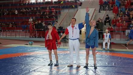 В Гомеле впервые проведена республиканская спартакиада по самбо на призы УСК по Гомельской области