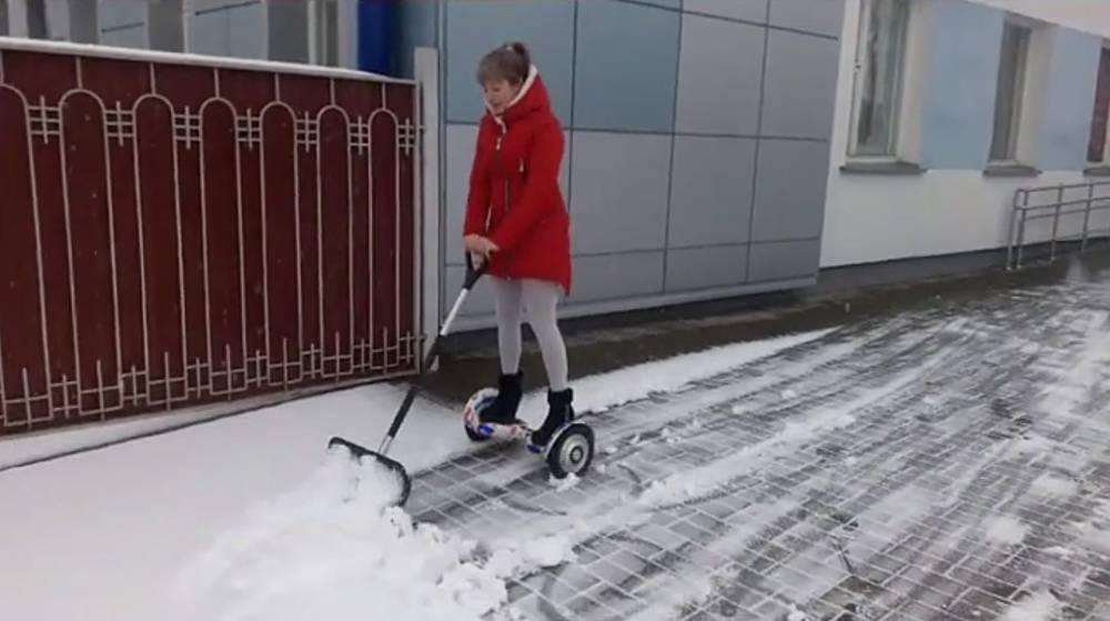 Зима в городе! На следующей неделе в Гомеле ожидаются снег и метель