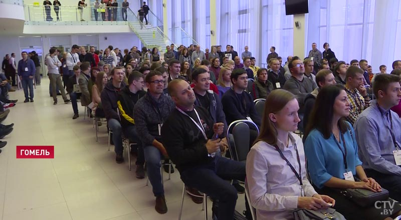 В Гомеле проходит крупнейшая в стране IT-конференция «GECon–2018»