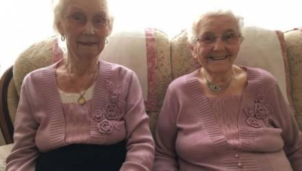 102-летние близнецы рассказали свой рецепт долголетия
