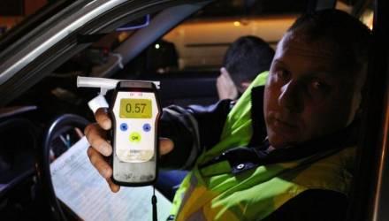 С начала года на Гомельщине за пьяную езду к ответственности привлечено 3000 водителей