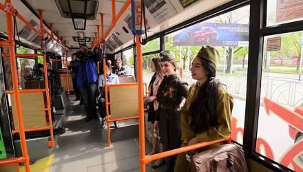 В понедельник в связи с празднованием освобождения Гомеля от немецко-фашистских захватчиков будет изменено движение транспорта