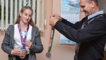 В Гомеле наградили студентку 1 курса, которая завоевала медаль юношеских Олимпийских игр в Буэнос-Айресе