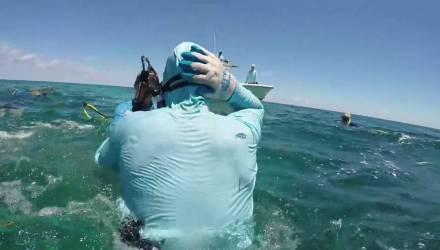 """Помню звук хруста"": акула укусила дайвера за голову – видео"
