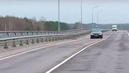 На мосту через Cож под Гомелем начались ремонтные работы