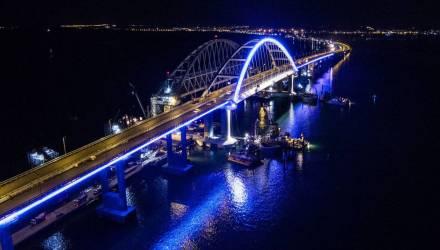 Украинские власти заявили о проседании Крымского моста: смещение на несколько миллиметров разглядели со спутника