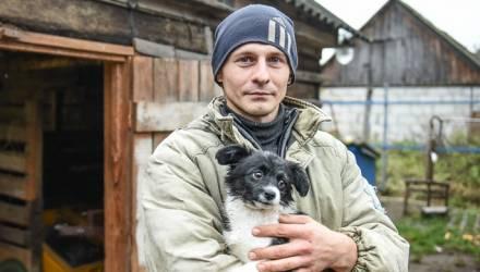 Дай на счастье лапу мне: непридуманная история о человеческой доброте жителя Гомельского района