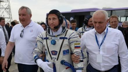 """Космонавт: отверстие в """"Союзе"""" было просверлено изнутри корабля"""