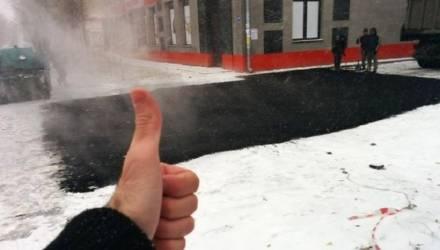 Так можно ли асфальтировать дороги зимой? Очевидное, невероятное и предусмотренное нормами