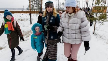 В Петриковском районе открылась резиденция «полесского» Деда Мороза