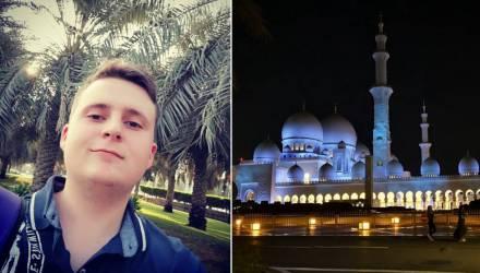 Из -5 в +30. Гомельский студент рассказал о своих впечатлениях от поездки в Арабские Эмираты