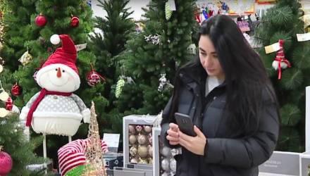 В Гомеле магазины начали предновогоднюю торговлю и открылась выставка ёлочных игрушек