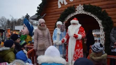 В Гомеле на центральной площади прошла благотворительная новогодняя акция «Ёлка желаний»