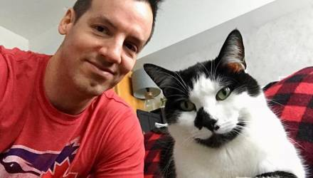 Хозяин снял, что делает кошка в его отсутствие, и это видео разобьёт вам сердце