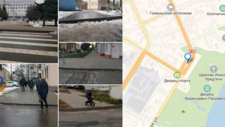 Гомельчане создали петицию, направленную на решение проблемы с высокими бордюрами