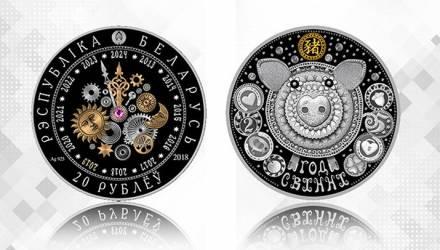 Нацбанк выпустил памятную монету к Году Свиньи