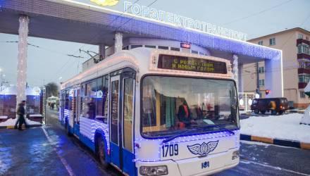 В Гомеле планируется расширить сеть троллейбусных маршрутов