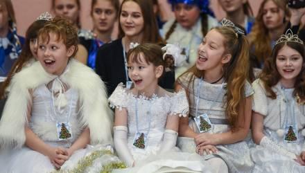 В Гомеле зажгли белорусско-российскую «Ёлку мира и дружбы»