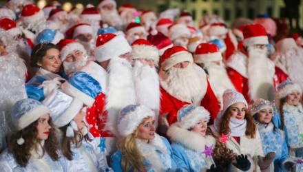 Новогоднее шествие Дедов Морозов и Снегурочек пройдёт 21 декабря в Гомеле