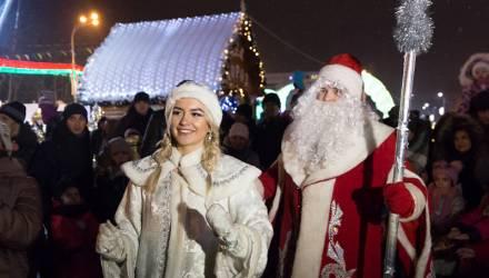 В Гомеле презентовали резиденцию Деда Мороза