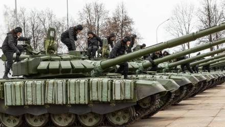 Белорусская армия вошла в список мощнейших армий Европы