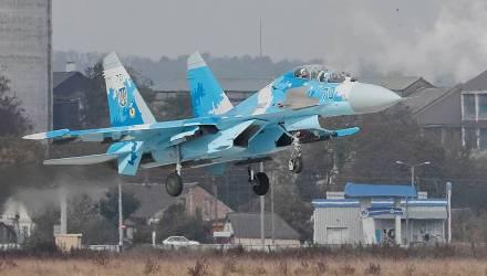 В Украине разбился Су-27, лётчик погиб