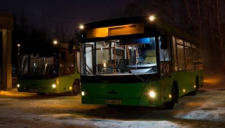 В Гомеле введён дополнительный вечерний рейс автобуса № 60