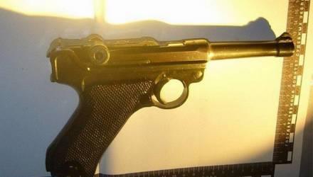 Белорус купил в Украине пистолет с патронами и пытался ввезти его на Гомельщину