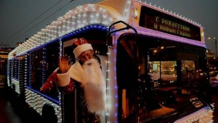 В Гомеле в новогоднюю ночь будет продлена работа общественного транспорта