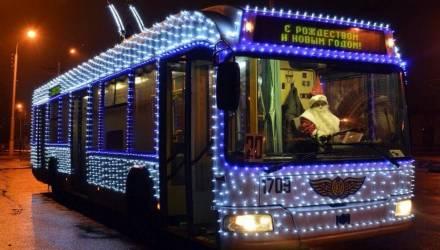 В новогоднюю ночь в Гомеле продлят работу общественного транспорта