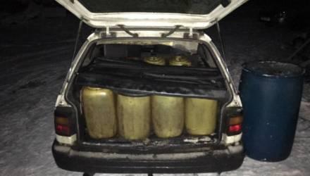Не пойман - не вор, так ведь поймали. В Калинковичском районе раскрыта кража 176 литров дизельного топлива с карьерной техники