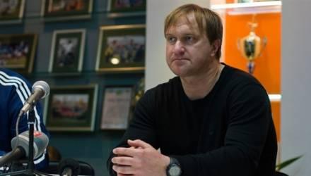 ФК «Гомель» продлил контракт с главным тренером Алексеем Меркуловым на 2 года