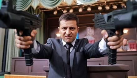 В центре Киева штурмовали офис юмориста-кандидата Зеленского